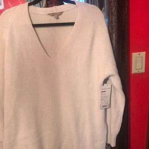 Athleta Sweater, Cream, Size M